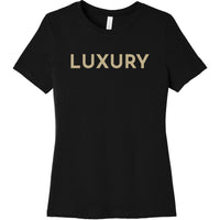 Gold Luxury - Short Sleeve Women's T-Shirt