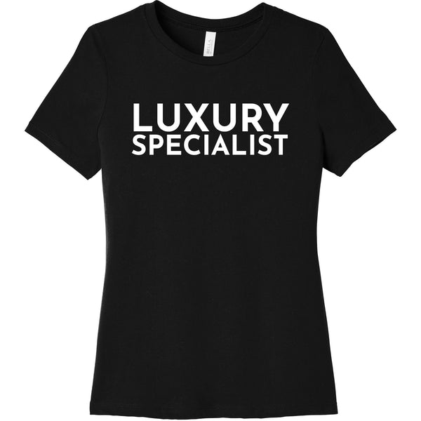 White Luxury Specialist - Short Sleeve Women's T-Shirt