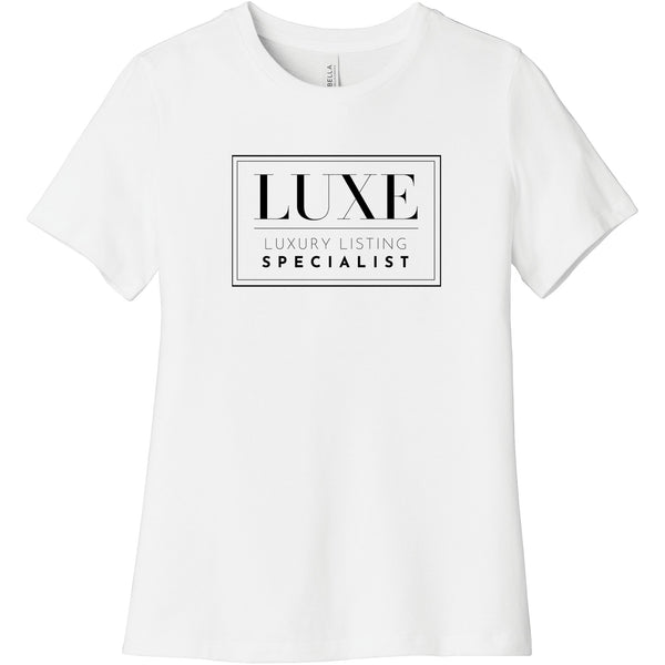 Black Luxe Logo - Short Sleeve Women's T-Shirt