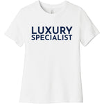 Navy Luxury Specialist - Short Sleeve Women's T-Shirt