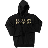 Gold Luxury Redefined - Pullover Hooded Sweatshirt