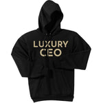 Gold Luxury CEO - Pullover Hooded Sweatshirt