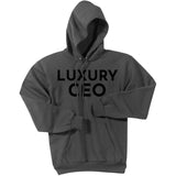 Black Luxury CEO - Pullover Hooded Sweatshirt