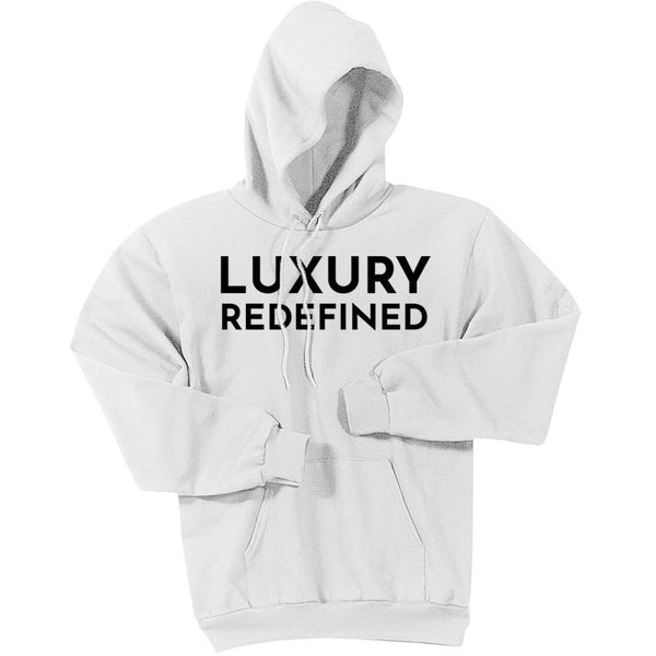 Black Luxury Redefined - Pullover Hooded Sweatshirt