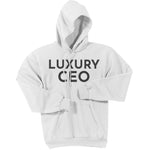Charcoal Luxury CEO - Pullover Hooded Sweatshirt
