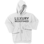 Charcoal Luxury Redefined - Pullover Hooded Sweatshirt