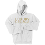 Gold Luxury Specialist - Pullover Hooded Sweatshirt
