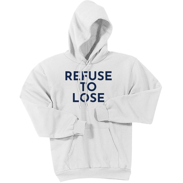 Navy Refuse To Lose - Pullover Hooded Sweatshirt
