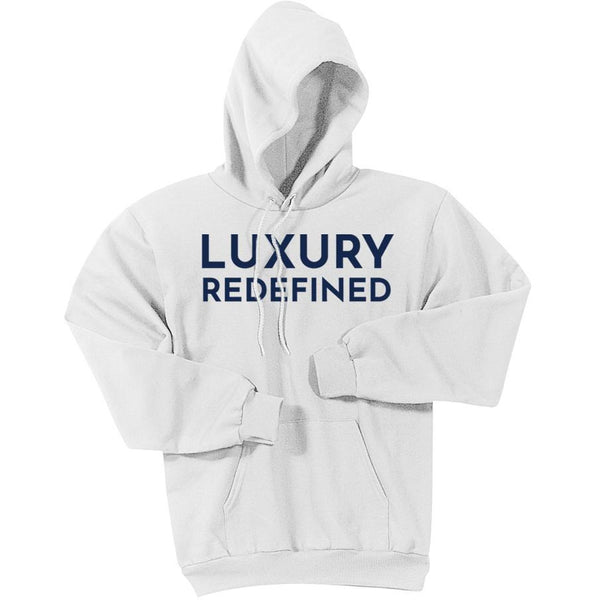 Navy Luxury Redefined - Pullover Hooded Sweatshirt