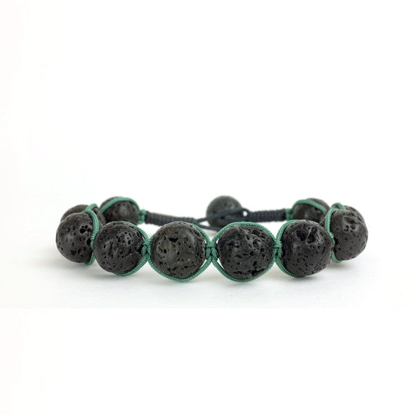 bracelets men stone stretch bracelet lover wukaka beads pcs yoga volcano energy gift jewelry natural item