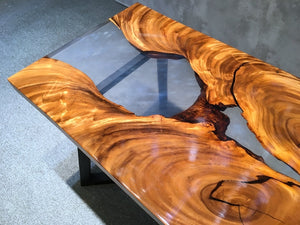 DIY River Table - MOOKAFURNITURE