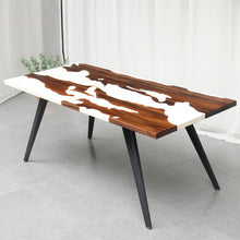 Load image into Gallery viewer, MKRT-190704 Designer Specially Designs Snowy Resin Dining Table