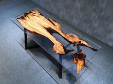 Load image into Gallery viewer, river resin table - MOOKAFURNITURE