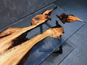 river resin table - MOOKAFURNITURE