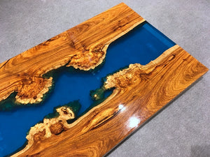 Blue river Table - MOOKAFURNITURE