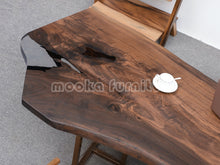 Load image into Gallery viewer, Resin Wood Table - MOOKAFURNITURE