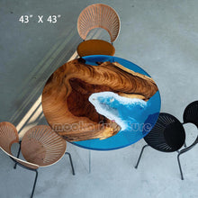 Load image into Gallery viewer, Resin Wood Coffee Table