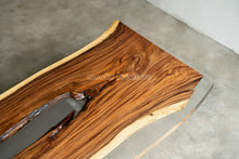 Load image into Gallery viewer, Resin Wood Dining Table