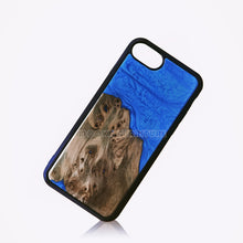 Load image into Gallery viewer, Resin  Wood Mobile Phone Shell Phone case - MOOKAFURNITURE