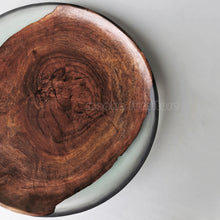 Load image into Gallery viewer, BLACK WALNUT RESIN TRAY FREE SHIPPING