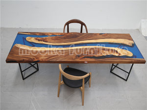 River Dining Table - MOOKAFURNITURE