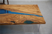 Load image into Gallery viewer, Resin Wood Table