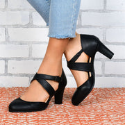 Workaday Chunk Heels