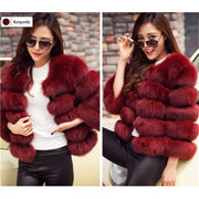 Plus Faux Fur Jacket