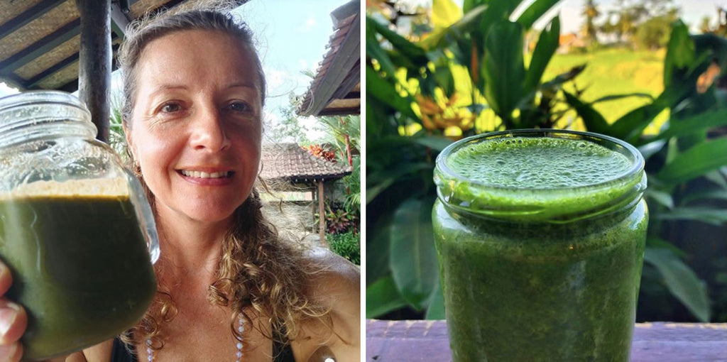 Oksana Sokol - Green Juice Recipe