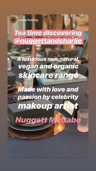 Nuggett x Charlie Skincare Launch