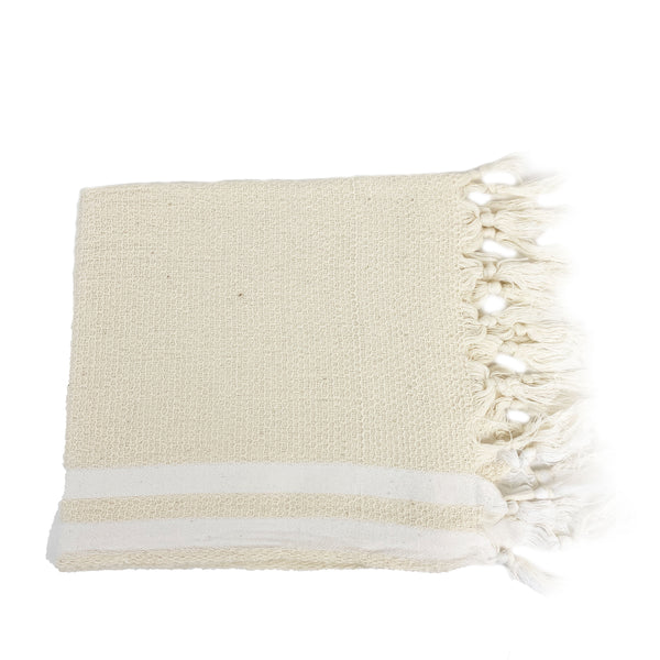 Krem Cotton Hand Towel - H+E Goods Company