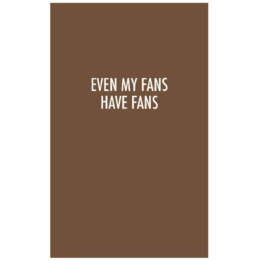 Quotes Notebook Chocolate - H+E Goods Company