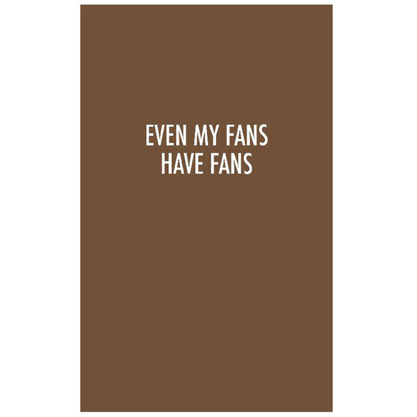 Quotes Notebook Chocolate