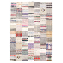 Load image into Gallery viewer, Patchwork Multicolor Kilim Rug - H+E Goods Company