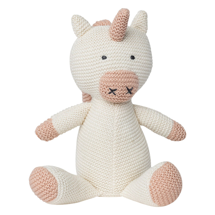 Classic Unicorn Organic Stuffed Animal - H+E Goods Company