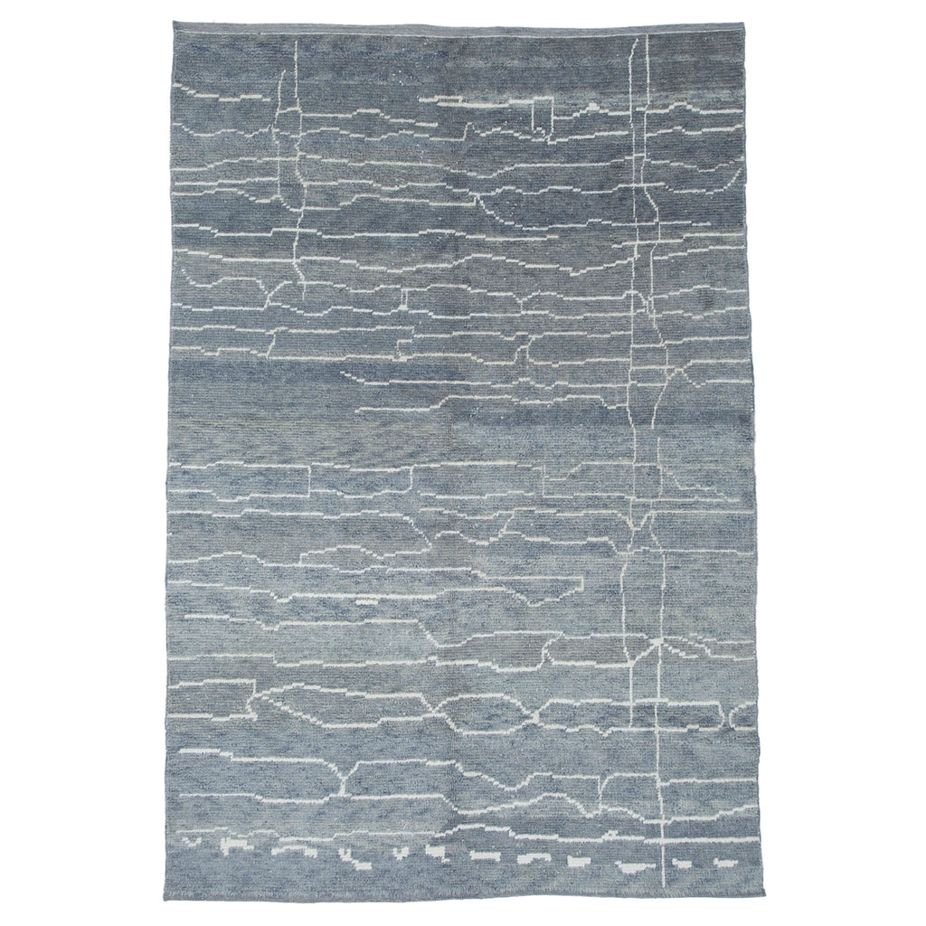 Modern Hand Knotted Wool Rug - H+E Goods Company