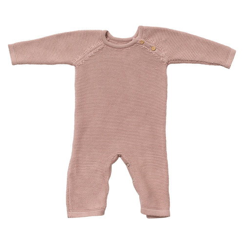 Classic Knit Baby Romper