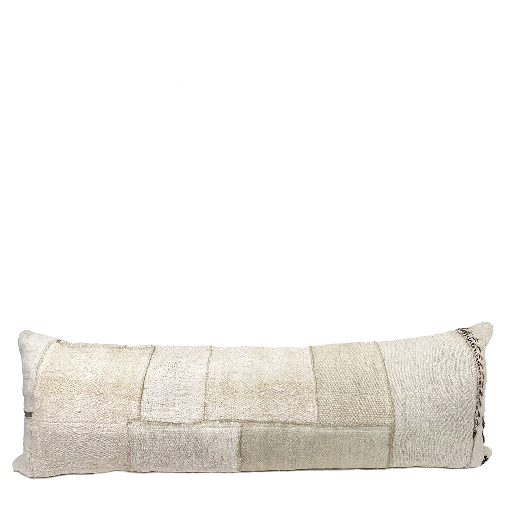 Valerie Long Lumbar Patchwork Pillow - H+E Goods Company