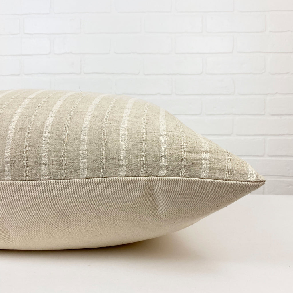 Suzanne Handwoven Pillow - H+E Goods Company