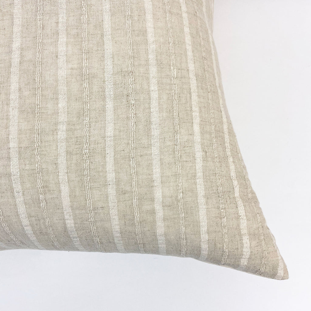 Suzanne Handwoven Throw Pillow - H+E Goods Company