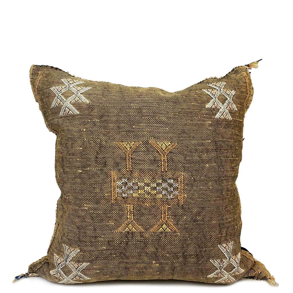 Feza Moroccan Silk Pillow - H+E Goods Company