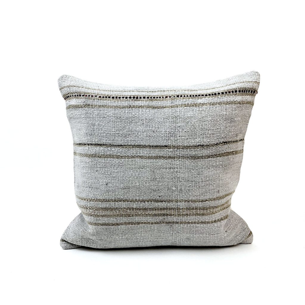 Organic Hemp Throw Pillow - H+E Goods Company