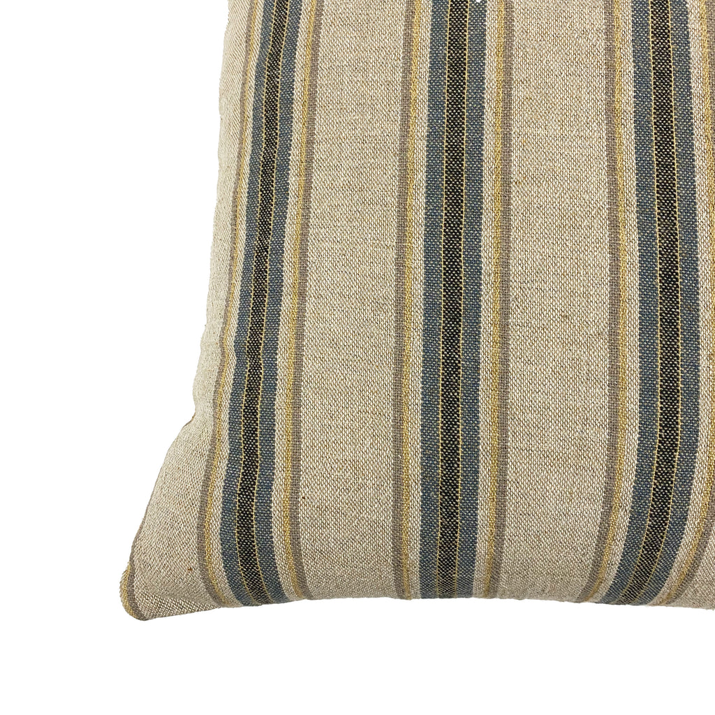Wrinkle Organic Linen Throw Pillow - H+E Goods Company