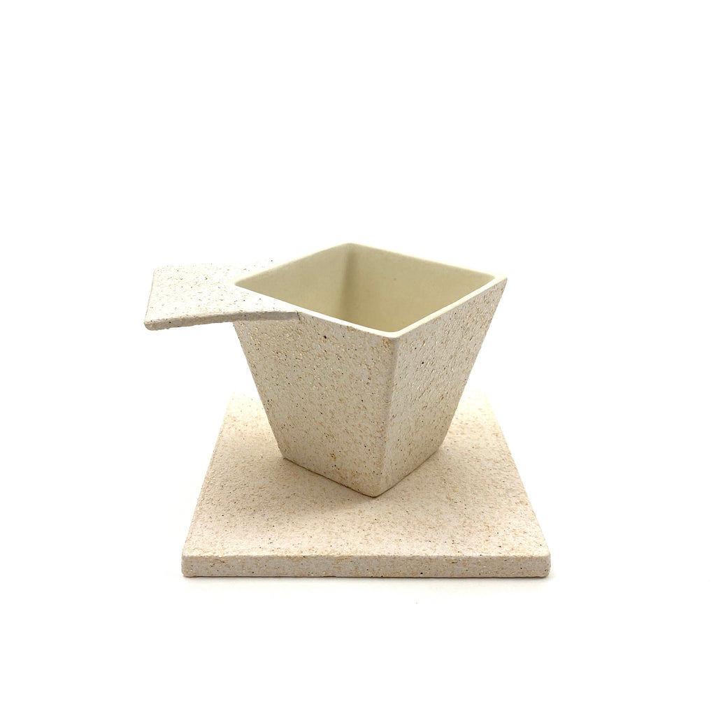 Modern Square Coffee Cup - H+E Goods Company