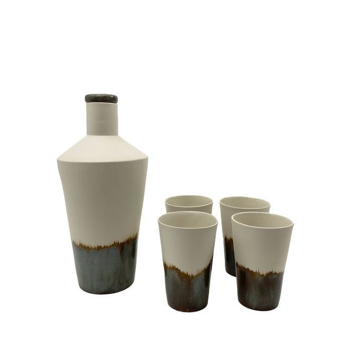 Porcelain Decanter Set - H+E Goods Company