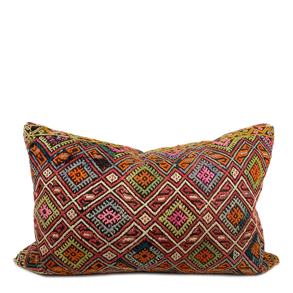 Meltem Vintage Kilim Long Lumbar Pillow - H+E Goods Company