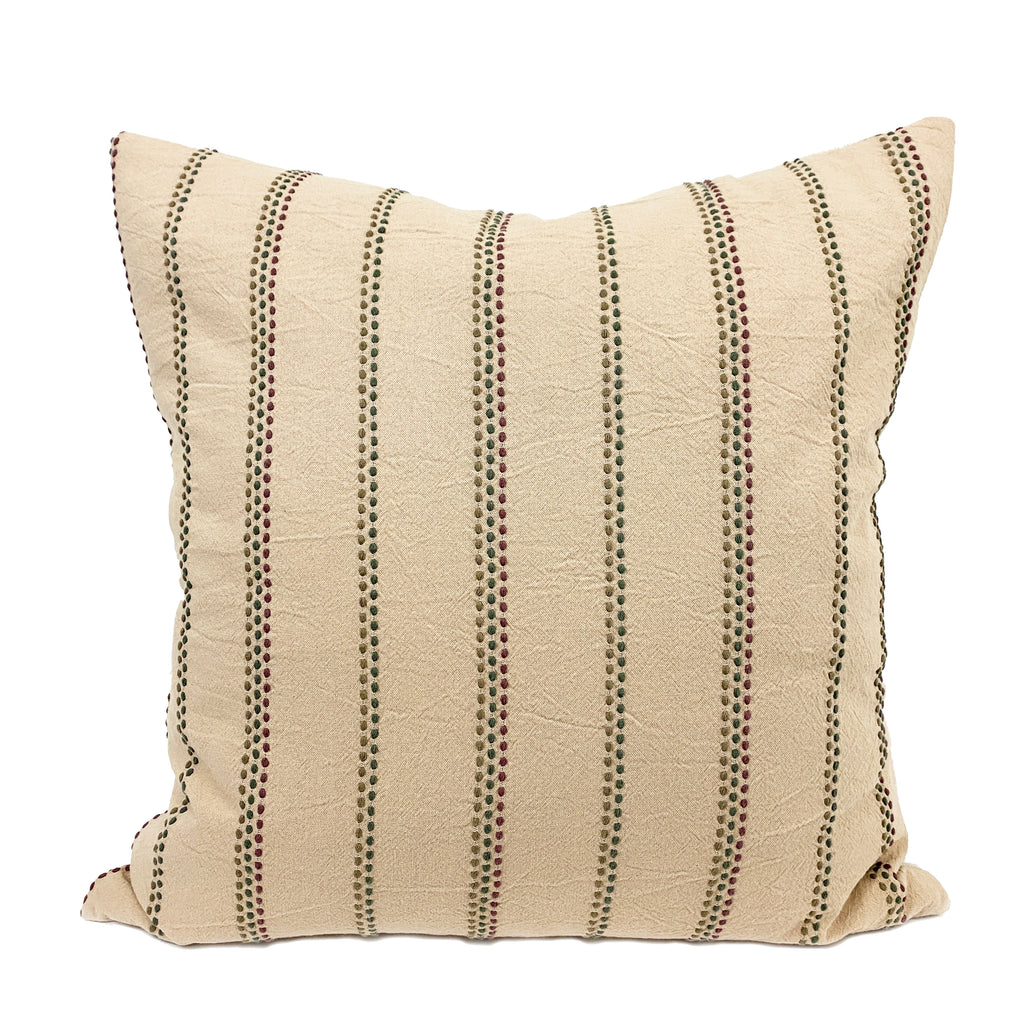 Patricia Handwoven Throw Pillow - H+E Goods Company