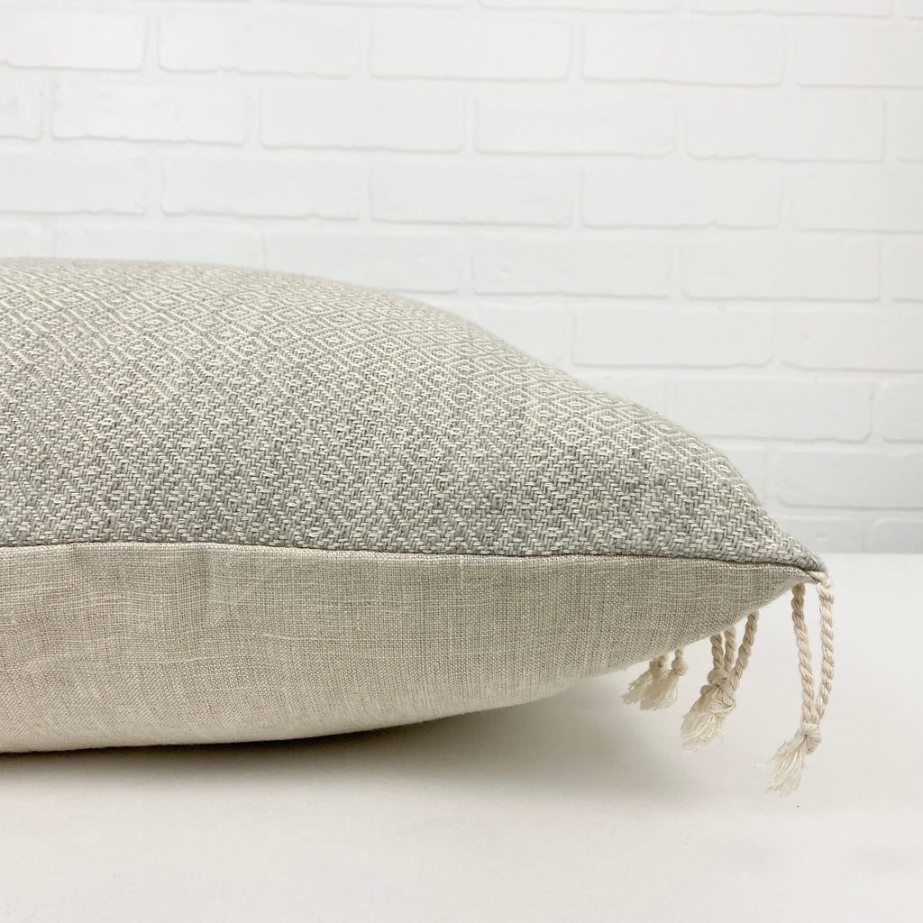 Asselsa Handwoven Throw Pillow - H+E Goods Company