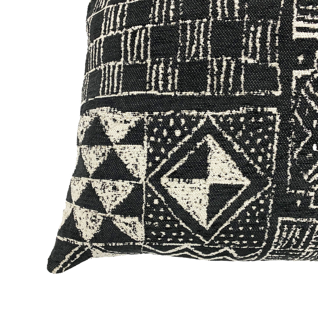 Kenya Cotton Velvet Throw Pillow - H+E Goods Company