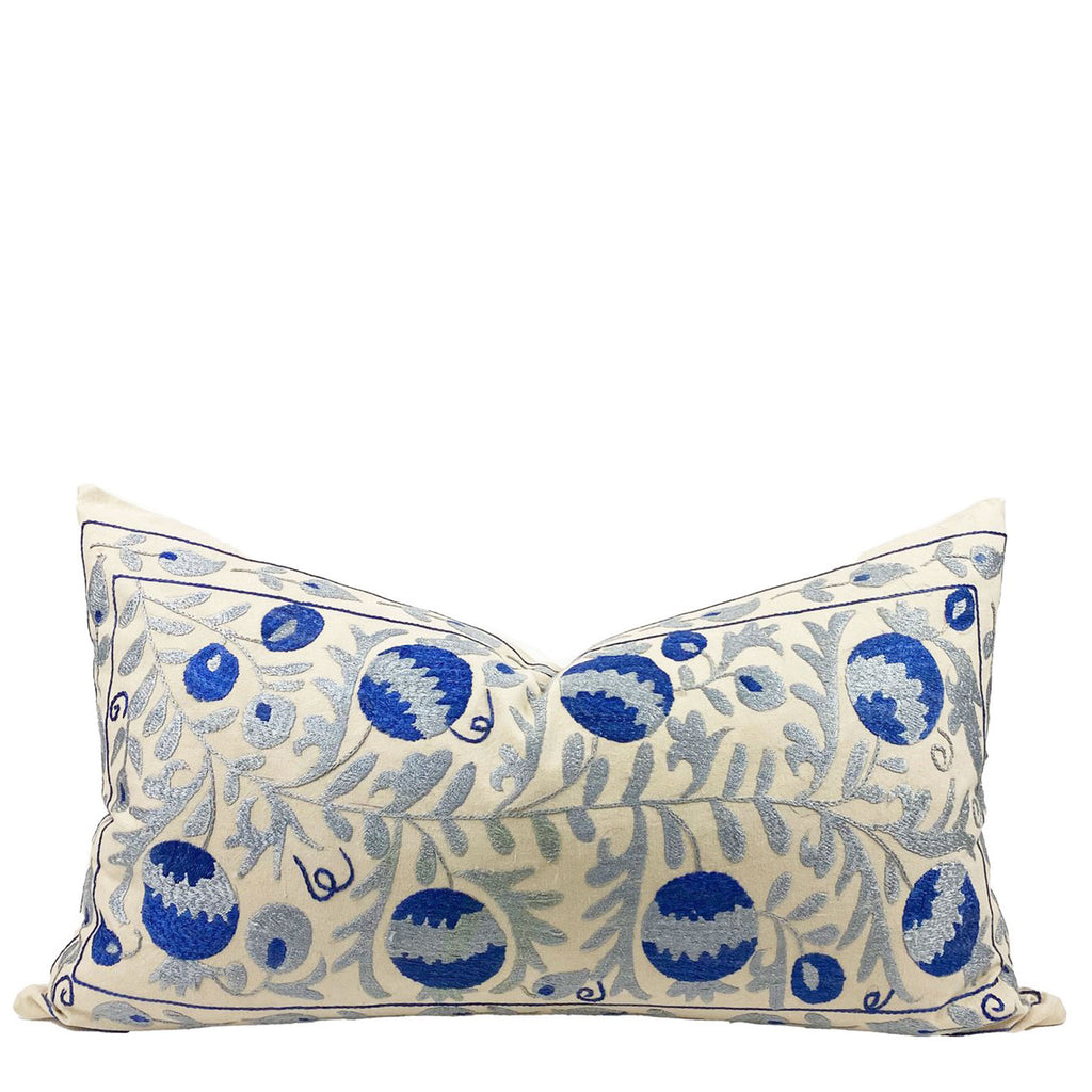 Nar Suzani Embroidered Pillow - H+E Goods Company